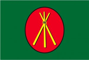 The eco-warrior flag came from Australia in the mid-1990s.